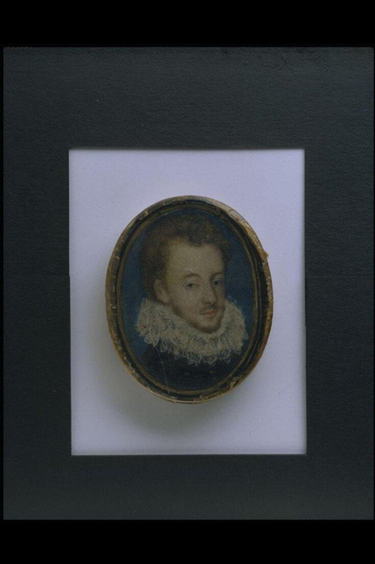Portrait of Francois Hercule, Duc d'Alencon (1554-1584) top image