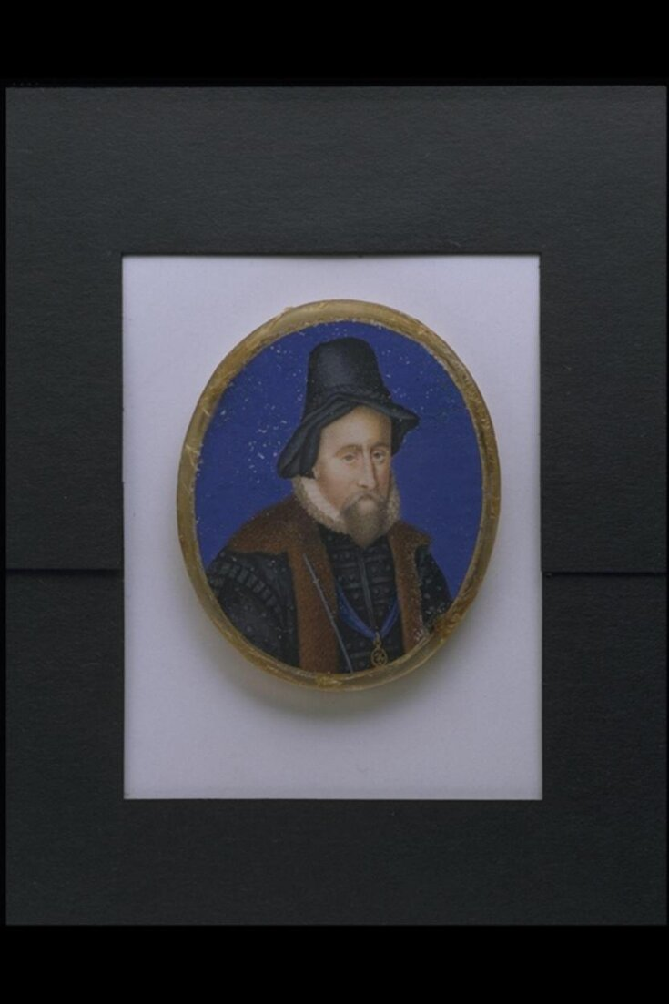 Portrait of Sir William Cecil, Lord Burghley (1520-1598) top image