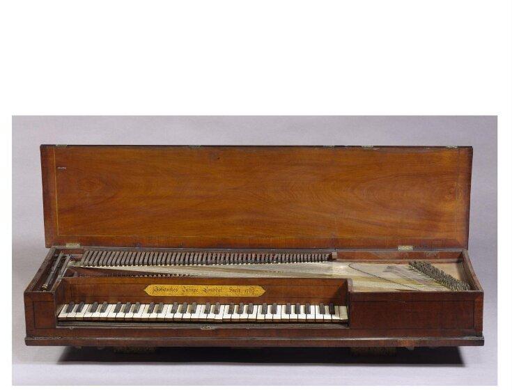 Square Piano top image