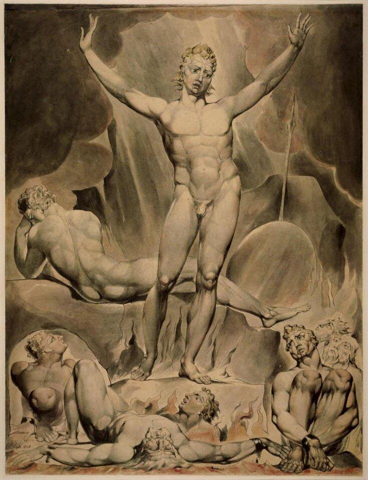 Satan arousing the rebel angels top image