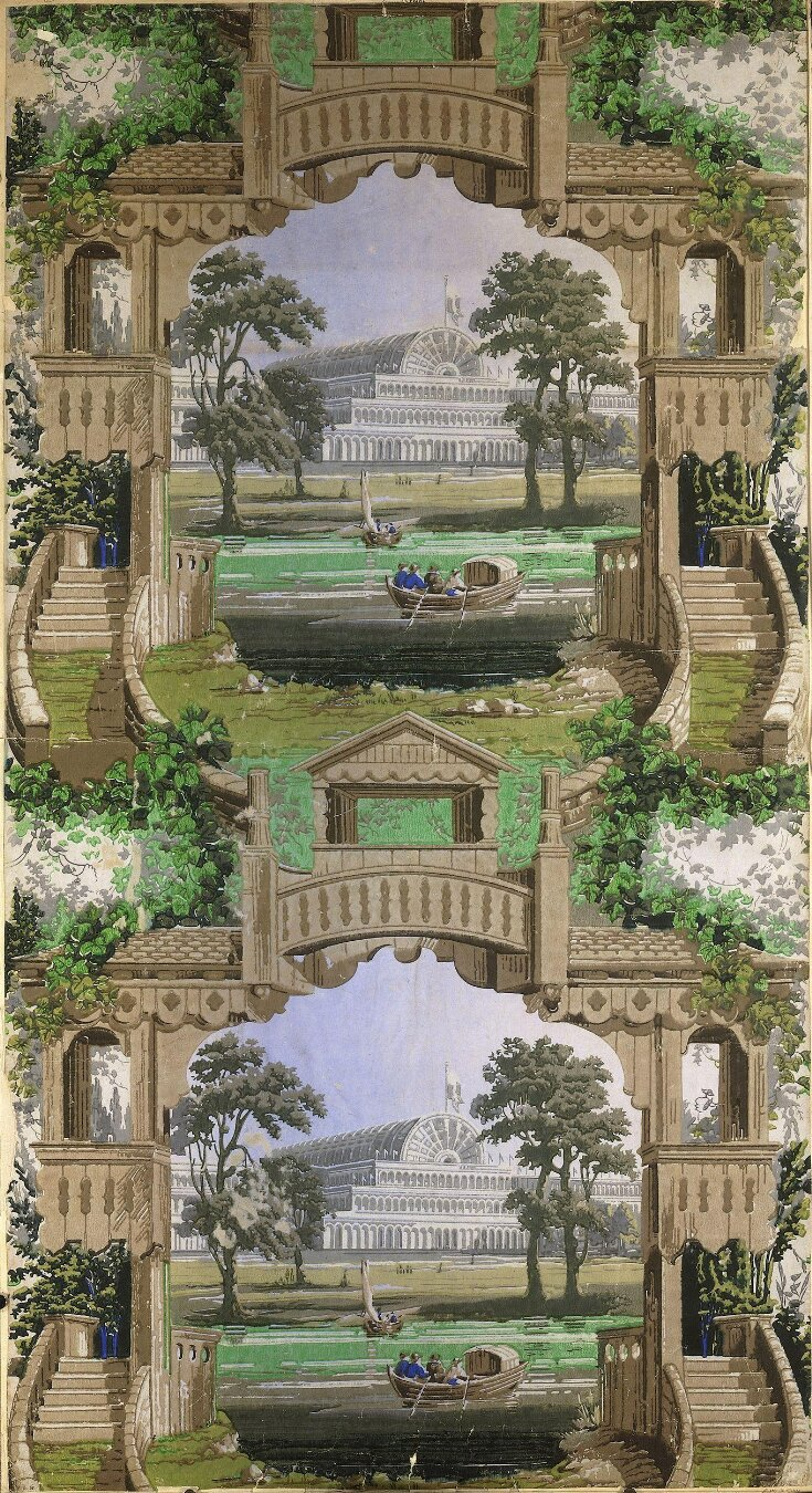 Perspective Representation of the Crystal Palace and Serpentine top image