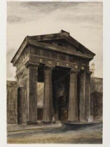 Doric arch, Euston Station, London, NW1 thumbnail 1