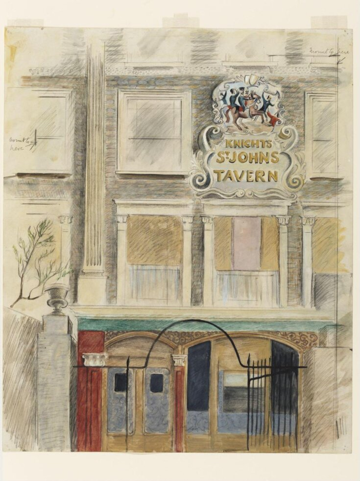 The Knights of St Johns Tavern, Queen's Terrace, St John's Wood, London top image