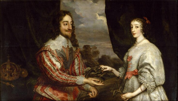 Charles I of England and Queen Henrietta Maria top image