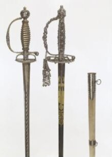 Small Sword With Hilt-Case and Scabbard thumbnail 1