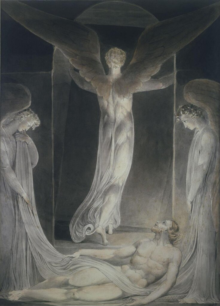 The Resurrection: The angel rolling away the stone from the sepulchre top image