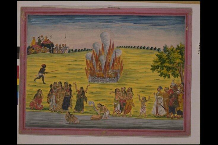 Sati ceremony top image