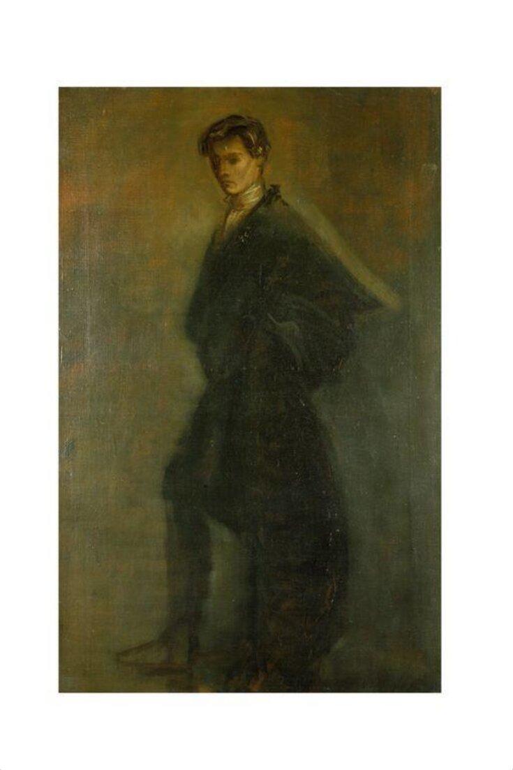 Edward Gordon Craig as Hamlet in Hamlet by William Shakespeare top image