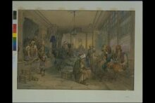 A Turkish Coffee-House, Constantinople thumbnail 1