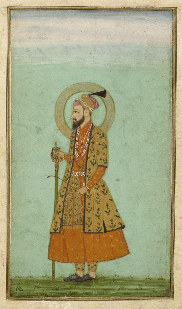 The emperor 'Alamgir (Aurangzeb) top image