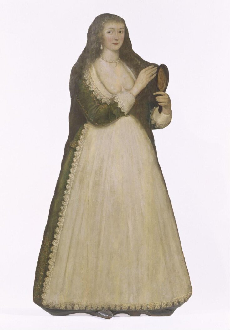 Woman with Mirror (dummy board) top image