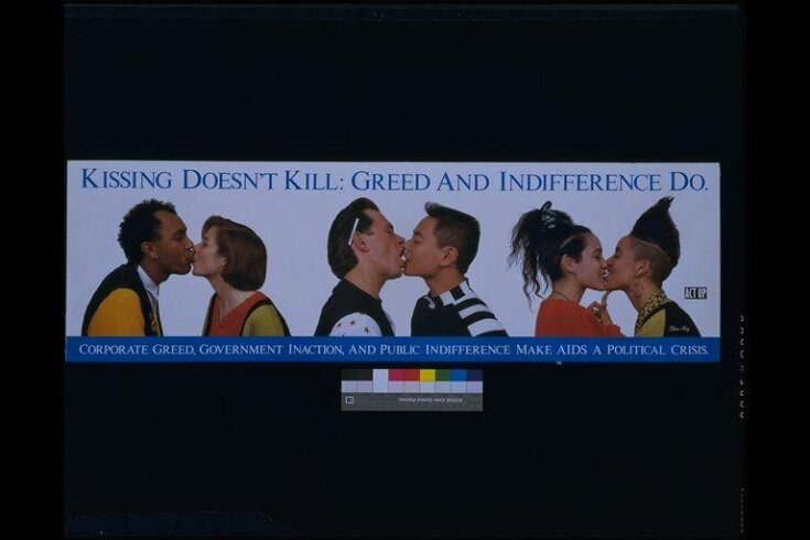 Kissing Doesn't Kill. Greed and Indifference Do. top image