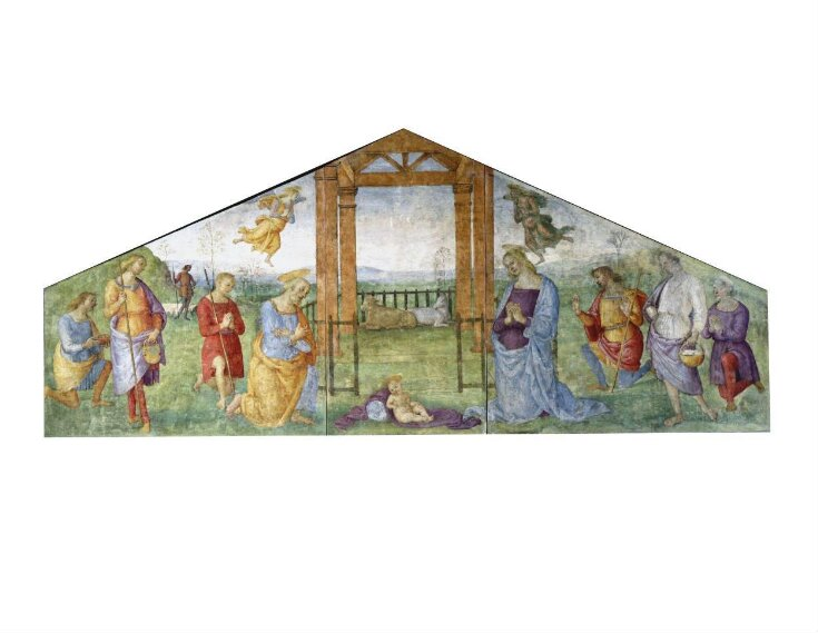 The Nativity: The Virgin, St Joseph and the Shepherds Adoring the Infant Christ top image