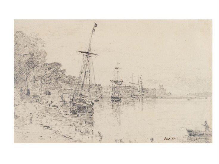 River scene at Mistley, Essex top image