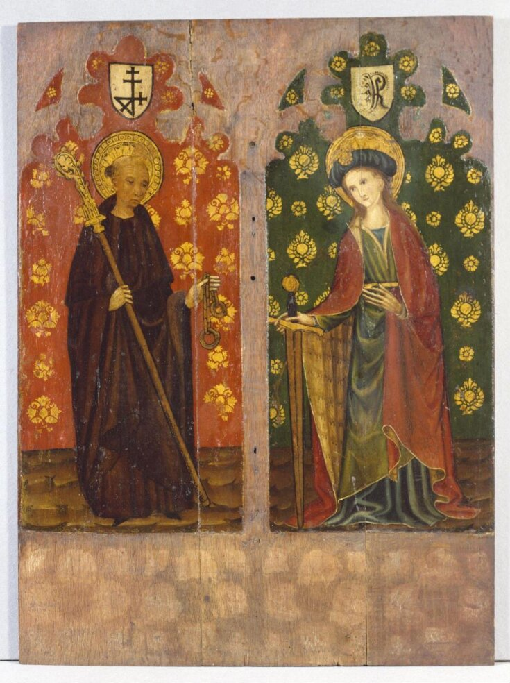 St Leonard with Crozier and Manacles (left panel) top image