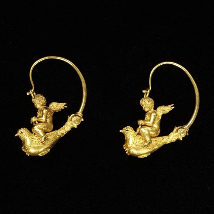Earrings top image
