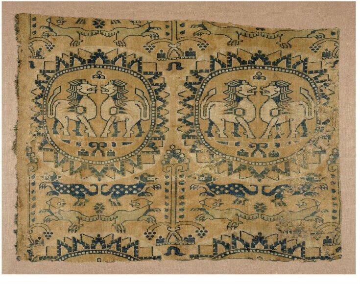 Woven Silk top image