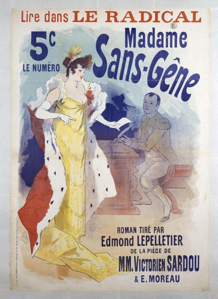 Lire dans Le Radical: Madame Sans-Gêne top image