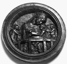The Virgin and Child with four angels thumbnail 1