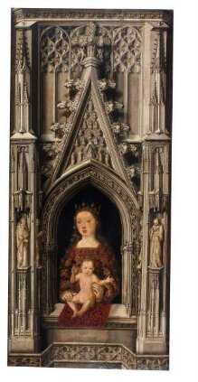 The Virgin and Child in a Gothic architectural setting thumbnail 1