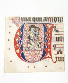 Historiated initial from a choirbook thumbnail 1