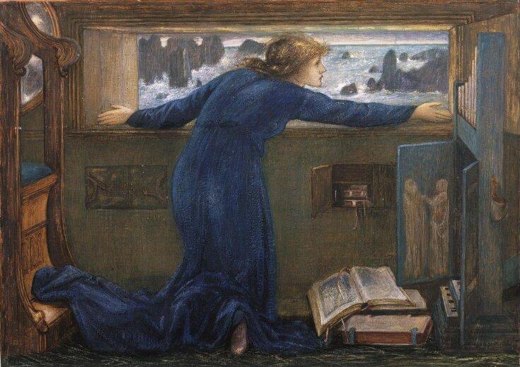 Dorigen of Bretagne longing for the safe return of her husband top image