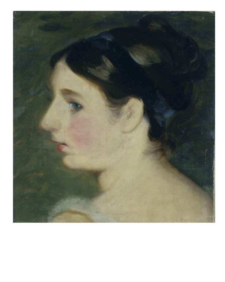 Head of a Girl, probably a portrait of Mary Constable top image