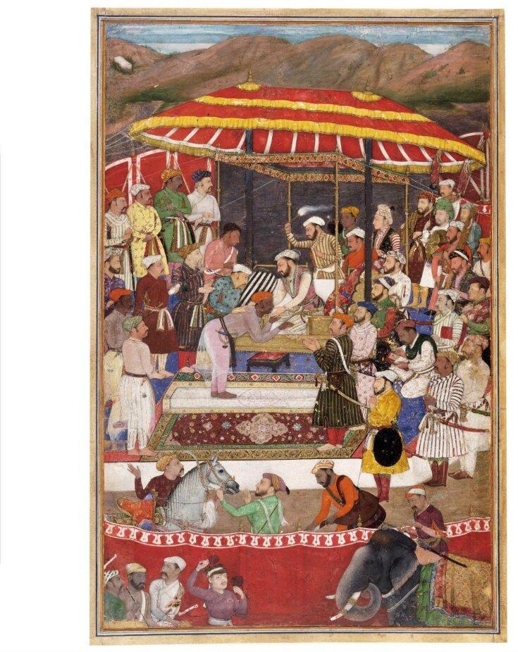 Maharana of Mewar and Prince Khurram top image
