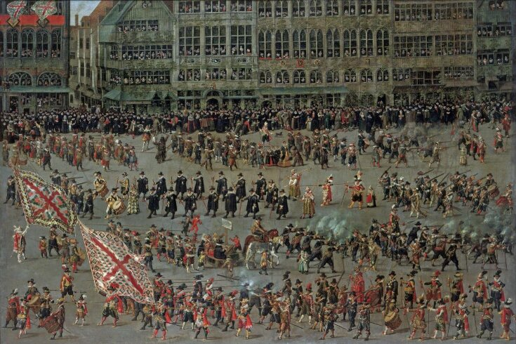 The Ommegang in Brussels on 31 May 1615: The Senior Guilds top image