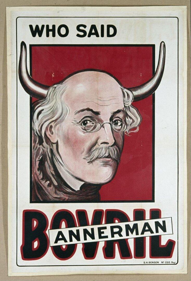 Who Said Bannerman (Bovril) top image