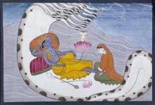 Vishnu and Lakshmi  thumbnail 1
