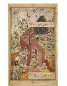 Babur supervising the laying out of the Garden of Fidelity thumbnail 1