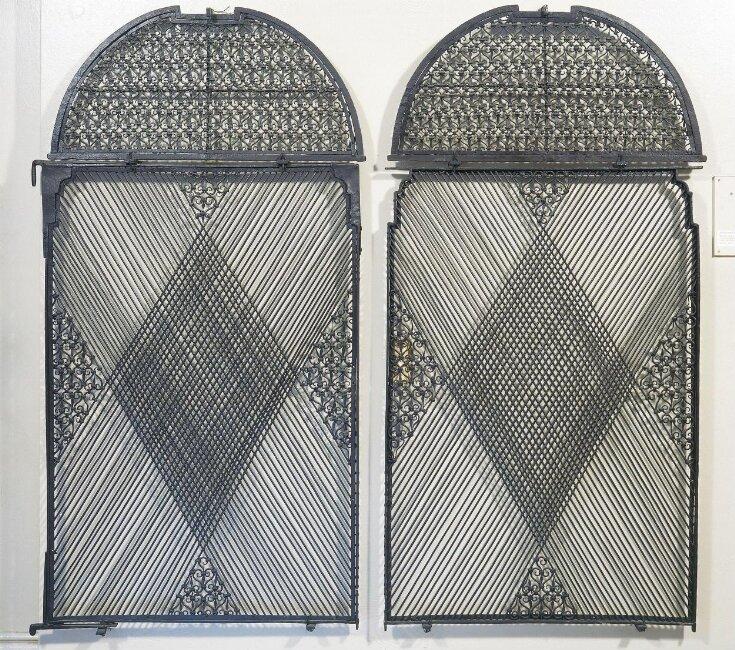 Pair of Window Grilles top image