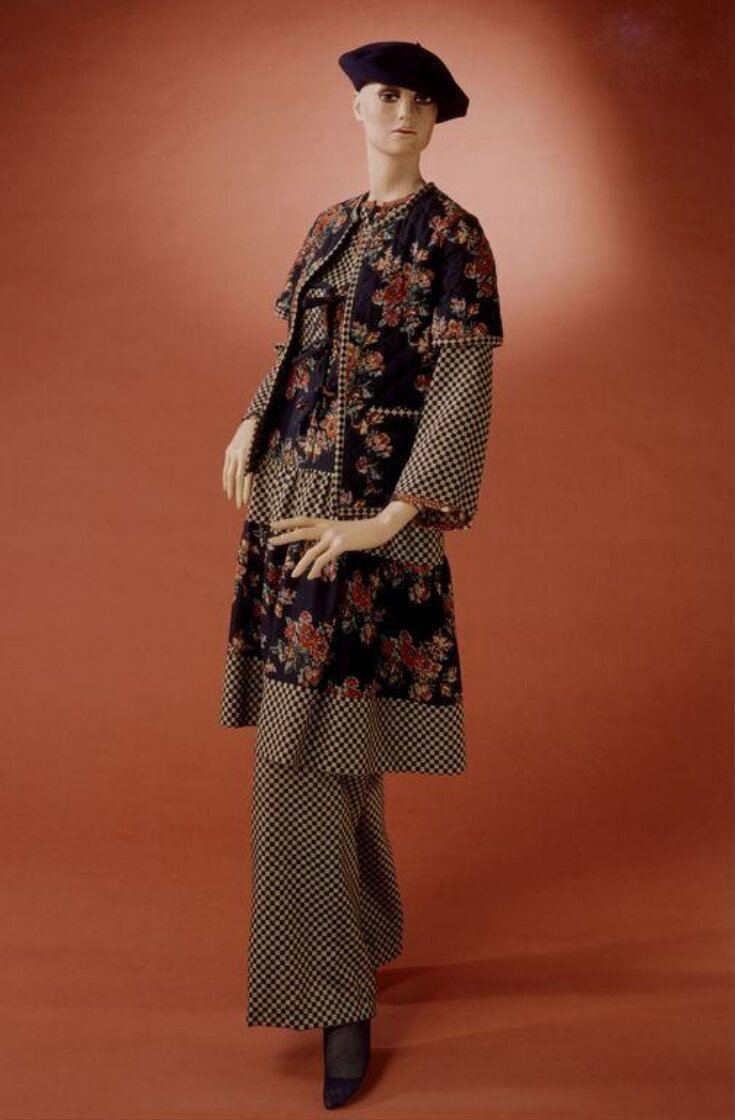 Trouser Suit and Blouse top image