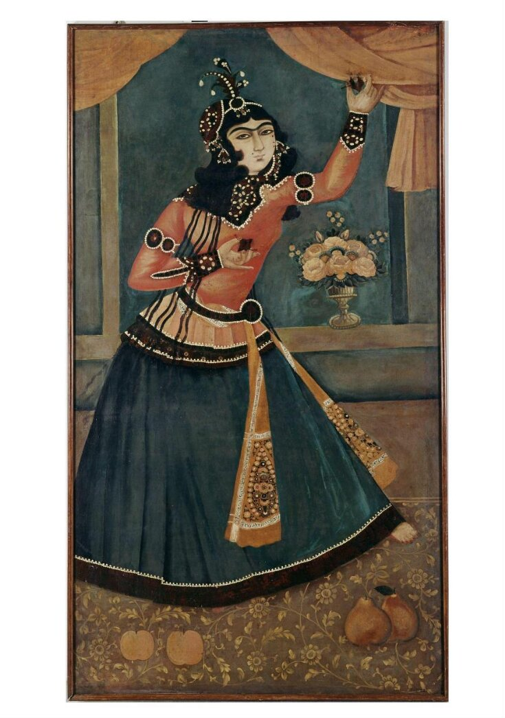 Lady Dancing and Playing Castanets top image