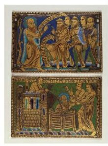 St Paul let down in a basket from the walls of Damascus thumbnail 1