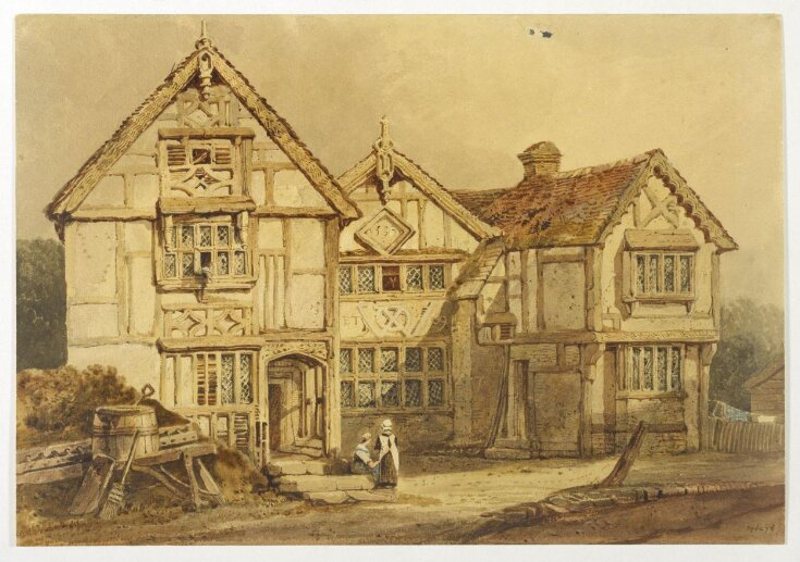 Old House at Pound's Bridge, near Tonbridge top image