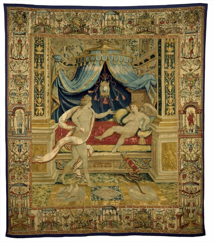 Venus admonishing Cupid top image