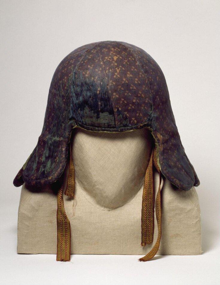 War helmet of Tipu Sultan top image