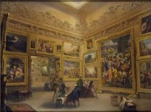 The National Gallery when at Mr J. J. Angerstein's House, Pall Mall thumbnail 1
