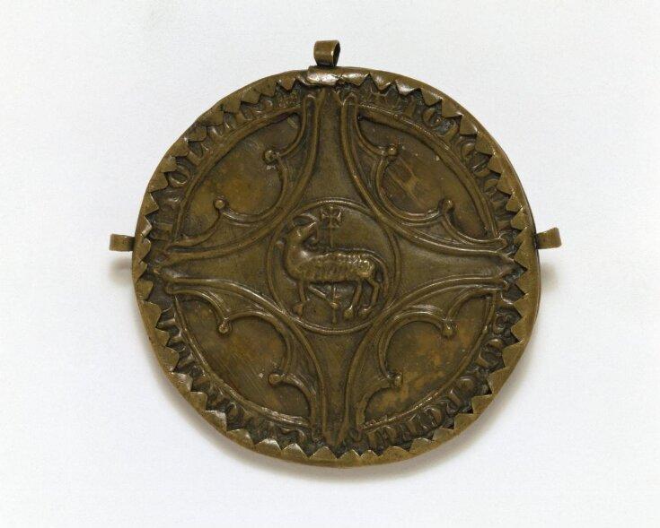 Agnus Dei Pendant top image