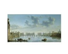 View of Old London Bridge from the West thumbnail 1