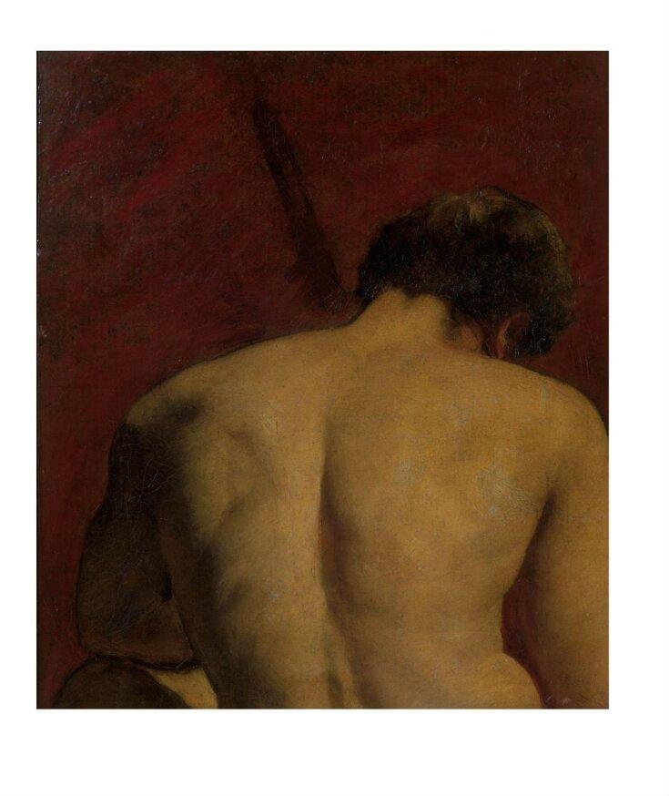 Study of Nude Male Figure top image