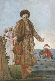 Nawab Shuja' ud-Daula of Avadh in Afghan dress thumbnail 1