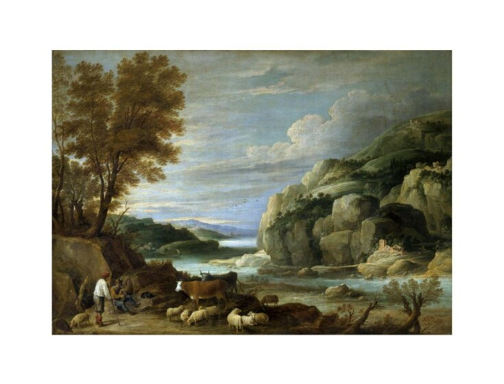 Rocky landscape with figures top image