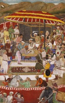 Maharana of Mewar and Prince Khurram thumbnail 1