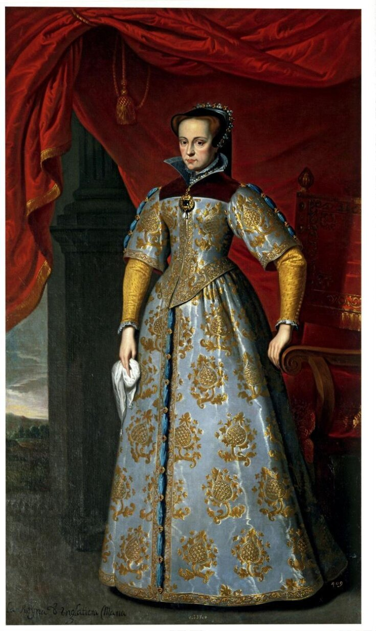 Queen Mary I of England (1516 - 1558) top image