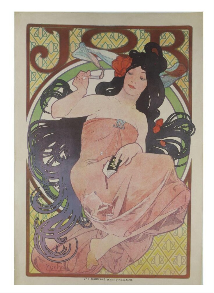 Champenois Alfons Mucha Poster Job