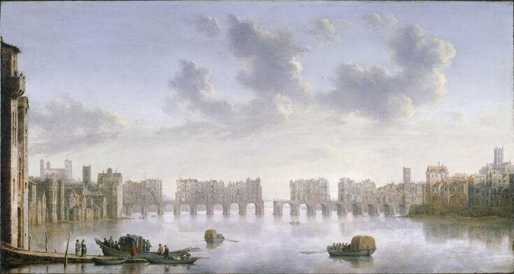 View of Old London Bridge from the West top image