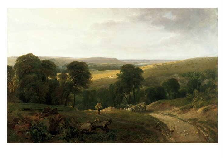 Landscape with Waggon top image